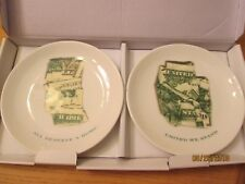 """Set Of 2 Lenox All Deserve A Home Plates New In Box 6"""" x 6"""""""