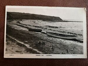 POSTCARD ANGLESEY - PENRYN BAY LLANFWROG REAL PICTURE-  EARLY 1900's.