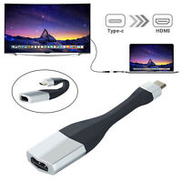 Type C USB-C to 4K HDMI Adapter Cable For Samsung Galaxy S8/S9 Plus/S10/Macbook