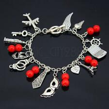 Fifty '50' Shades of Grey Trilogy Inspired Charm Bracelet Gift