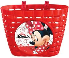 Cesta Delantera Plastico Infantil Niña para Bicicleta de Miss Minnie Mouse 6171