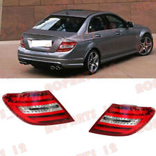 For Mercedes-Benz W204 C-Class 2008-2011 LED Tail Light Brake light Assembly