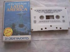 All The Best From Latin America Cassette Tape 20 GREAT FAVORITES