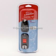 Hahnel Combi TF Remote Control & Flash Trigger for Canon, Pentax, Samsung - New