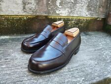J M WESTON 180 LOAFERS MEN'S SHOES – BROWN - UK 7 – SUPERB CONDITION