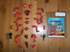 MOTU He-Man Figure Modulok Complete with Mini Comic!