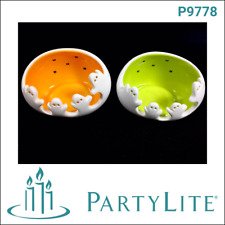 Partylite - photophore Halloween duo fantômes - P9794 - Neuf en carton