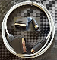 Commodore C64 / C128 Kabel an TV SCART 4 Meter (S-Video) LowCost