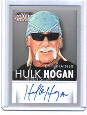 Hulk Hogan 2015 Panini Americana Authentic Autograph Card WWE