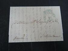 Nederland voorfilatelie vouwbrief Amsterdam - Schiedam 1837 st. Franco Amsterdam