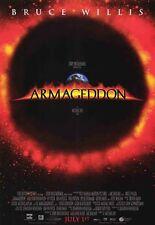 ARMAGEDDON MOVIE POSTER 2 Sided ORIGINAL FINAL 27x40 BRUCE WILLIS BEN AFFLECK