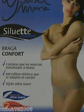 Braga Braguita midi Isabel Mora microfibra elástica costuras que no marcan