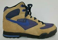 Nike Caldera Vintage Womens Hiking Boots Size 7.5 Brown Purple Lace Up Shoes