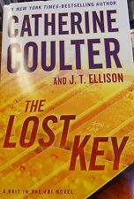 The Lost Key by Catherine Coulter large print new hardcover Book Club edition