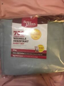 New Vintage  King  Size Sheet Set 4 Piece Better Home And Garden