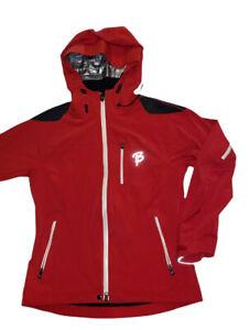 BJORN DAEHLIE Red Jacket Hooded Women's Medium