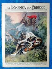 La Domenica del Corriere 10 settembre 1950 Bombay - Campanil Basso - Patagonia