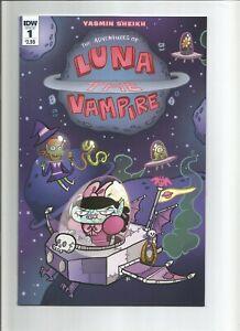 Adventures of Luna the Vampire #1 2 3 complete series - yasmin sheikh
