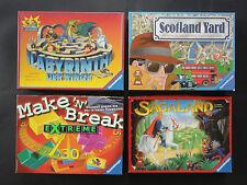 Labyrinth der Ringe, Scotland Yard, Make n Break Extreme, Sagaland - top erhal.
