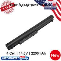 for HP Pavilion 14 15 TouchSmart series 728460-001 776622-001 La04 Battery Lot b