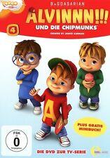 ALVINNN!!! UND DIE CHIPMUNKS - (4)DVD Z.TV-SERIE-DER FAMILIENTAG   DVD NEU