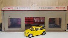 1:43 1/43 Diecast Mini Cooper Yellow Model Car