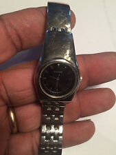 Solid Ladies Black Face Guess Analog Watch