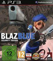 Blazblue Calamity Trigger Kampfspiel für Sony Playstation 3 Ps3 Neu/Ovp/Deutsch