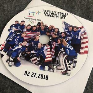PyeongChang 2018 Ice Hockey Womens Gold Medal Game USA vs. Canada DVD