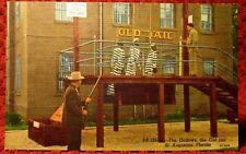 1940'S. OLD JAIL, ST AUGUSTINE, FLORIDA. POSTCARD. K14