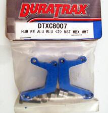 Duratrax DTXC8007 Hub Rear Aluminium Bleu Maximale ST/BX/MT (2) modélisme