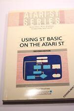 ATARI-ST SERIES MANUAL USING ST BASIC ON THE ATARI ST BY DICK MEADOWS 1988
