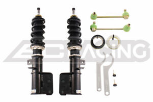BC RACING BR COILOVERS DAMPERS ADJUSTABLE FOR 04-06 PONTIAC GTO *FRONT ONLY*