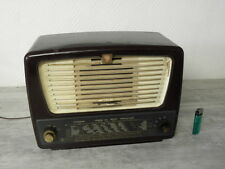 tsf valve art deco radio philips bf 356 a vintage old tube lamp antique bakelite