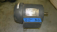 Allis-Chalmers Induction Motor 634 1HP 3PH 1750RPM 230/460Volt 60HZ FR143T