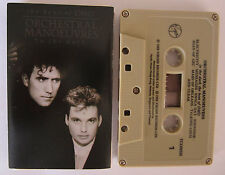ORCHESTRAL MANOEUVRES IN THE DARK THE BEST OF OMD CASSETTE TAPE (BEIGE TAPE)