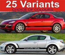 Mazda Rx8 Seiten Streifen Aufkleber Sticker für Mazda Rx8
