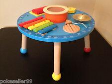 Wooden Imaginarium Musical Activity Table, Circular - Xylophone, Cymbal, Drum