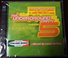 NYC Underground Party, Vol. 5 by Louie DeVito (CD, Nov-2002, 2 Discs,... NEW