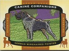 2017 Ud Goodwin Champions Canine Companions German Wirehaired Pointer Patch#Cc21