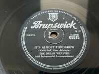 78rpm: The Dream Weavers – It's Almost Tomorrow - 1955 VG+