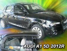 4 Deflettori Aria Antiturbo Audi A1 2012 in poi 5 porte