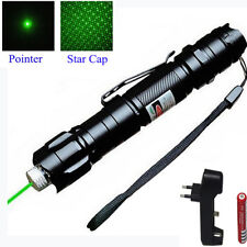 Powerful Green Laser Pointer Lights Pen Lazer Beam Professional 1mw 532nm 8000M