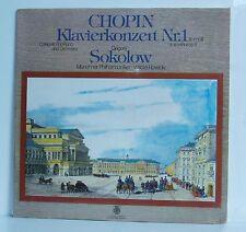 LP CHOPIN Piano concert Nº 1 Sokolov MP ROWICKI EURODISC/Orbis NOUVEAU & NEUF dans sa boîte