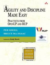 Agility and Discipline Made Easy: Practices from OpenUP and RUP, Excellent Books