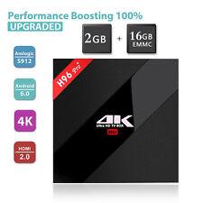H96 PRO Plus TV BOX  Amlogic S912 Octa Core Android 7.1 2G+16G Bluetooth 2.4G 5G