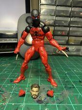 Marvel Legends Scarlet Spiderman SP dr Wave