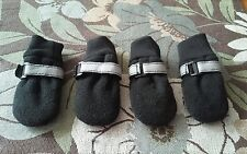 paw dog booties with reflectors size Small