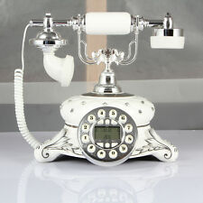 2018 New Gift Antique Push Button Corded Telephone Vintage Retro Home Desk Phone