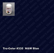 335,  Tru-Color Paint, N&W Blue